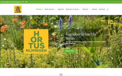 Spiksplinternieuwe website met nieuw webadres