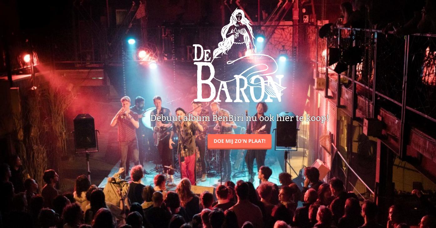 stomende Brass-muziek met de Baron. Binnenkort in de Hortus Nijmegen