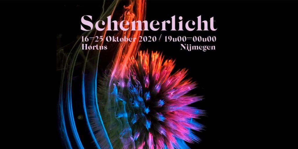 Schemerlichtfestival tijdens de herstvakantie 2020 in de Botanische tuin