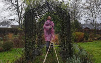 Met Janneke Brugman in de regen