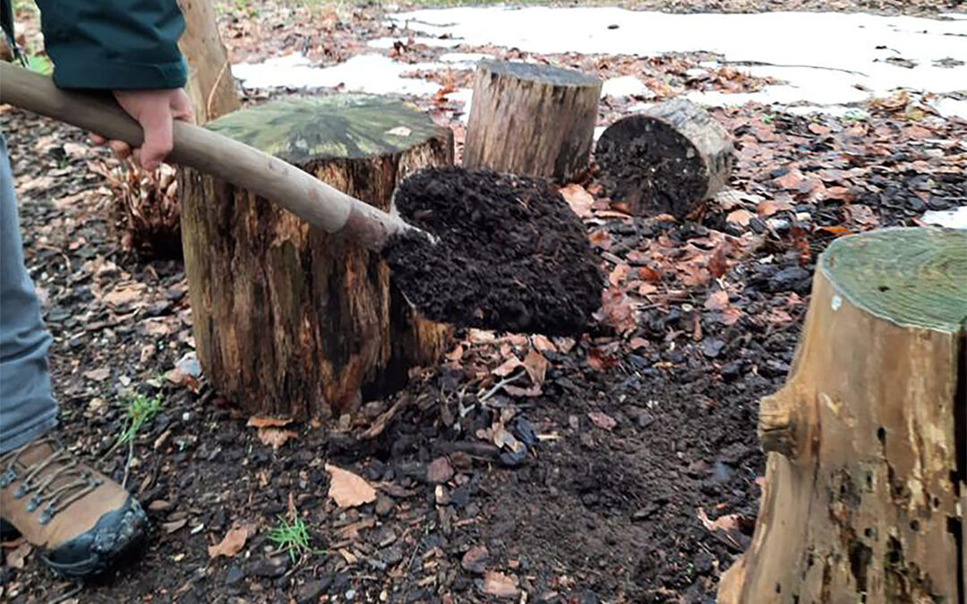Bodemverbetering met compost