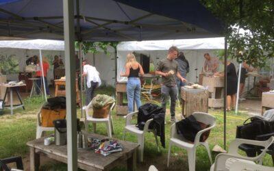 Workshop Beeldhouwen in de Hortus Nijmegen