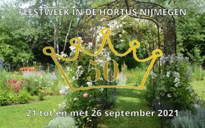 Hortus 50 jaar Feestweek